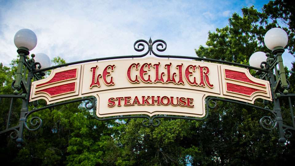Le Cellier Steakhouse - Epcot Dining