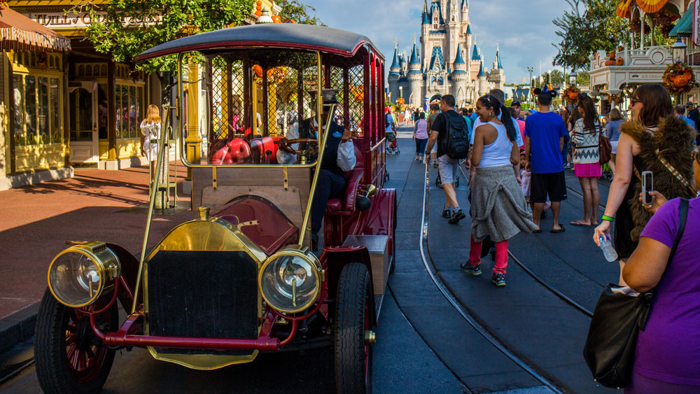 Main Street Vehicles - Disney World