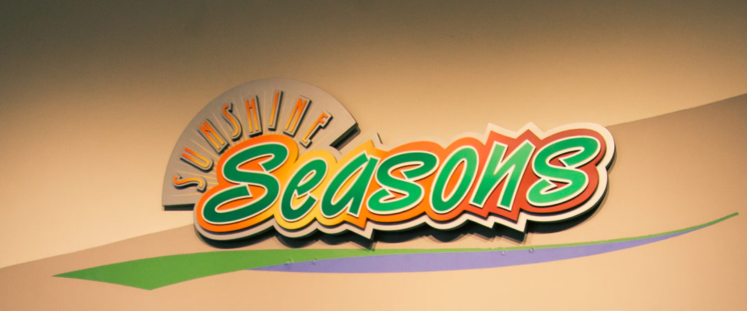 Sunshine Seasons Sign - The Land - Epcot