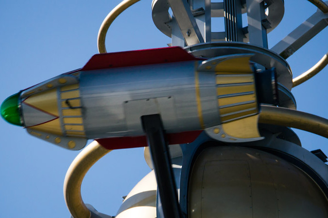 Astro Orbiter Rocket - Magic Kingdom