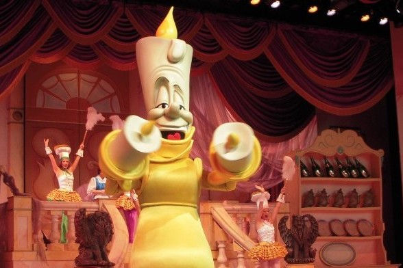 Beauty and the Beast - Lumiere Live on Stage
