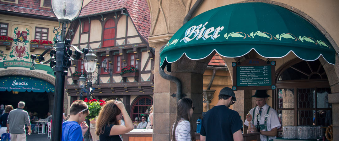 Beer Stand - Epcot - Germany Pavilion