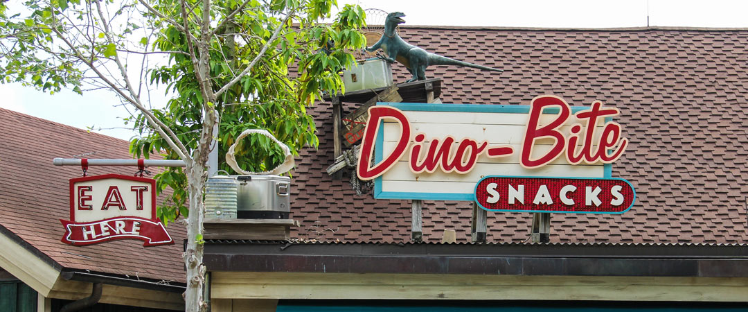 Dino-Bite Snacks - Animal Kingdom Restaurant