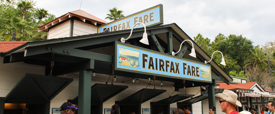Fairfax Fare - Hollywood Studios Restaurant - Disney World Dining