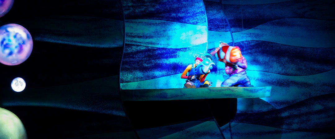 Finding Nemo Musical - Animal Kingdom Show