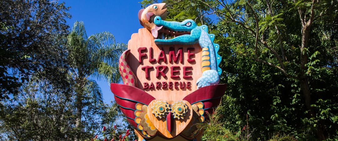 Flame Tree Barbecue - Animal Kingdom Restaurant