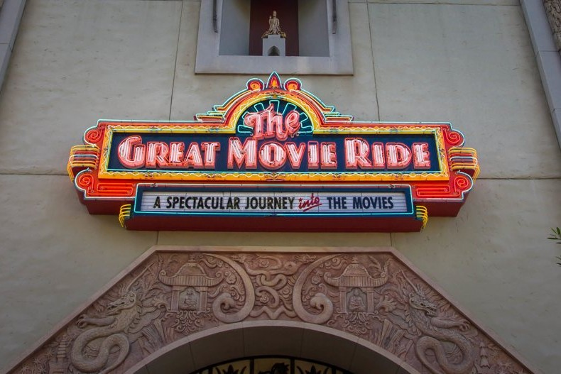 Great Movie Ride - Sign - Disney's Hollywood Studios