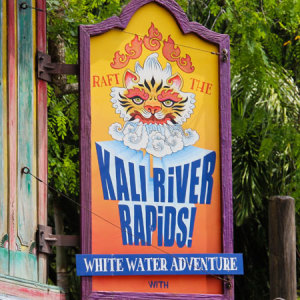 Tip: Bring a change of clothes if you want to go on Kali River Rapids.