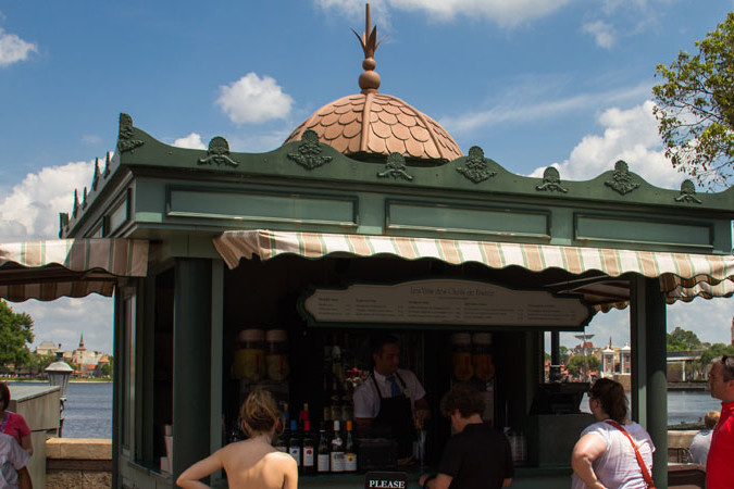 Le Vins de Chef de France - Epcot Wine Kiosk