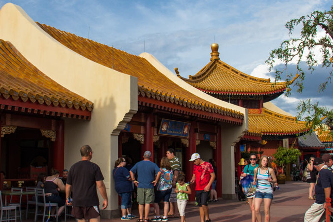 Lotus Blossom Cafe - Epcot's China Pavilion - WDW Dining