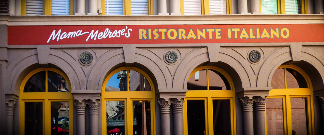 Mama Melrose's Ristorante Italiano - Hollywood Studios Restaurant