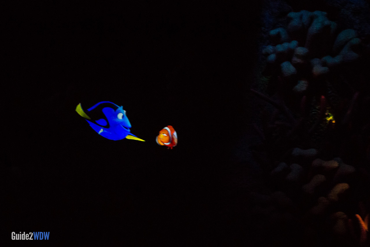 Marlin and Dory - The Seas with Nemo and Friends - Epcot Attraction