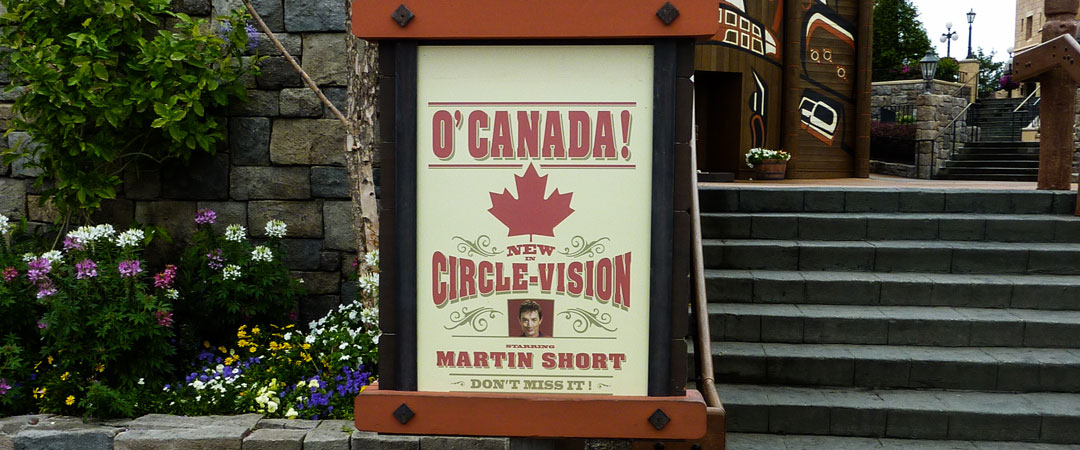 O Canada - Disney World Attraction