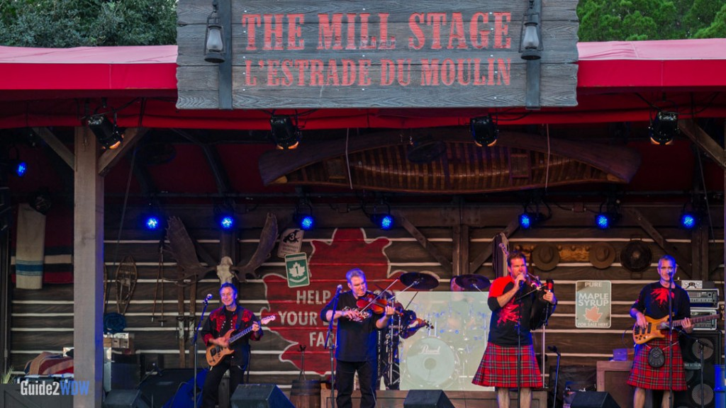Off Kilter - World Showcase Entertainment - Epcot Attraction