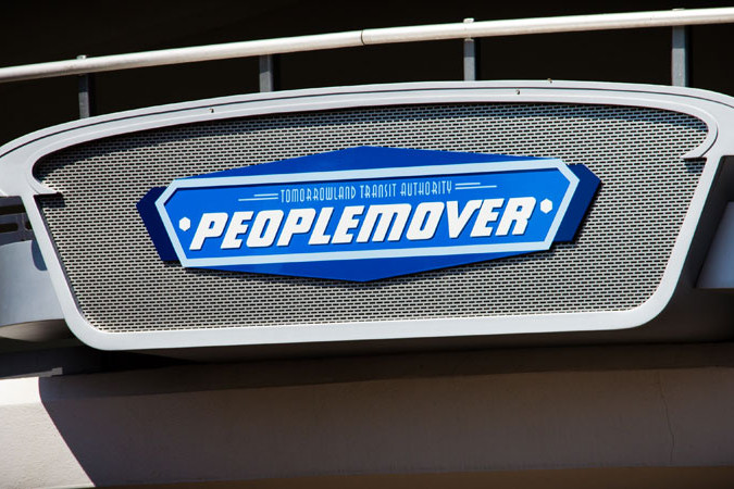 People Mover - Tomorrowland Attraction - Walt Disney World