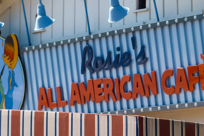 Rosie's All American Cafe - Hollywood Studios Dining