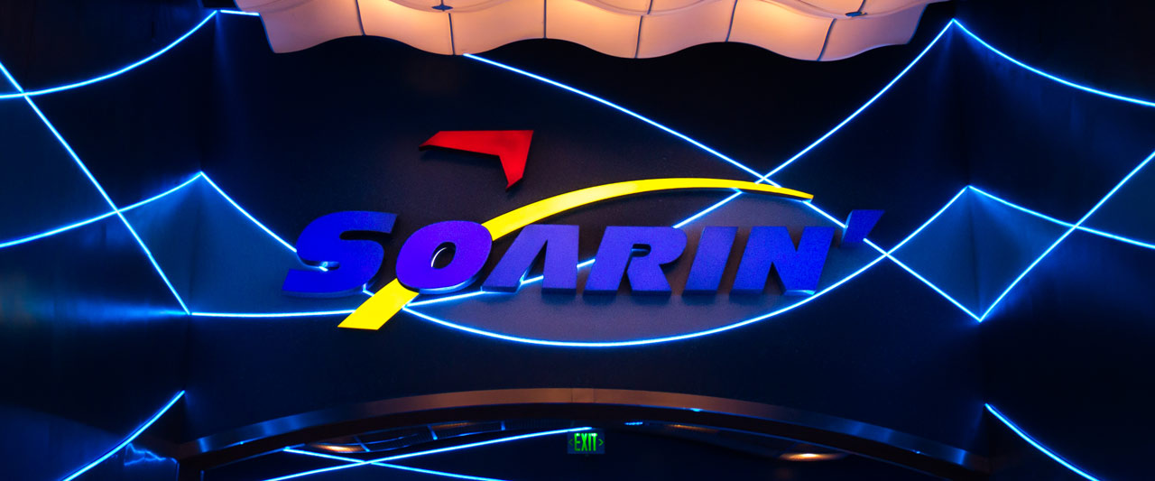 Soarin Sign - Epcot Attraction