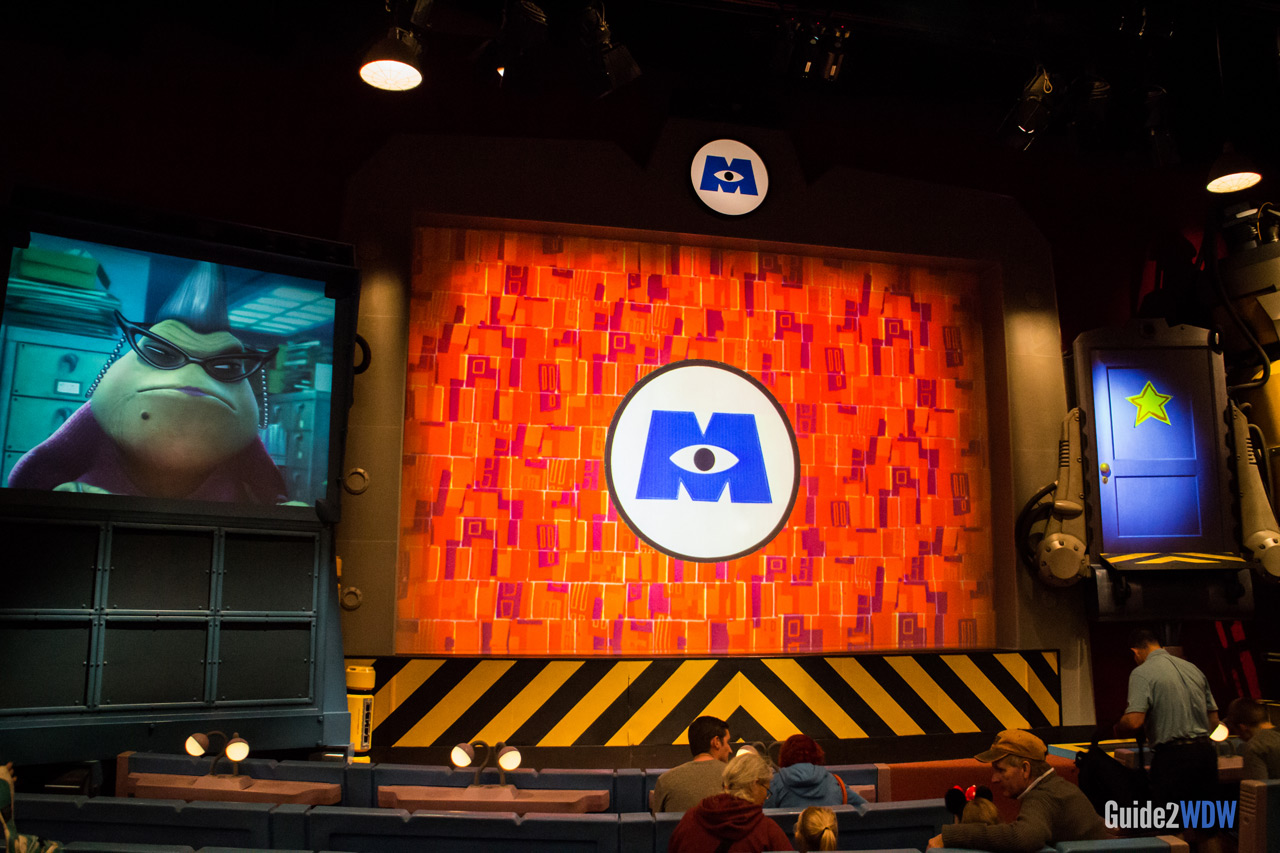 Stage - Monsters Inc Laugh Floor
