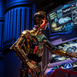 Tip: Looking for a smoother Star Tours ride?