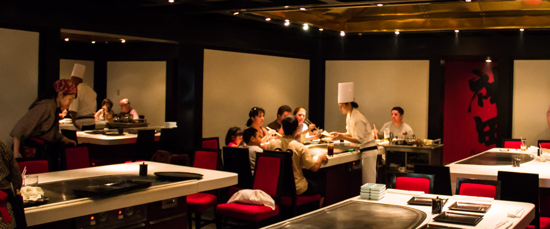 Teppan Edo GuideWDW - Teppan table