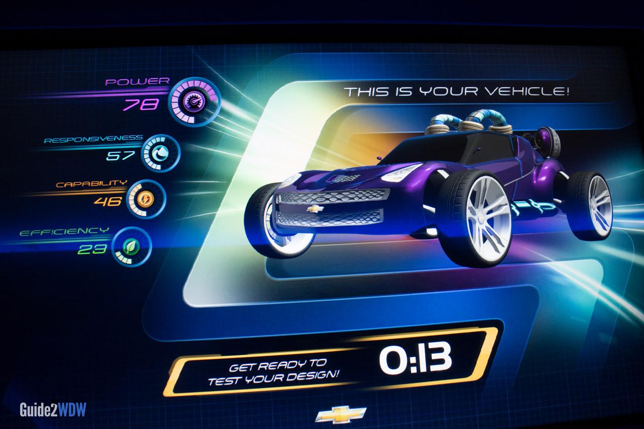 Test Track Car Design Purple