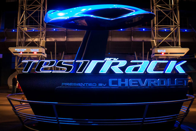 Test Track - Epcot Attraction