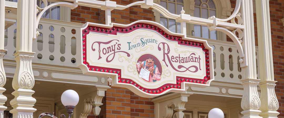 Tonys Town Square Restaurant - Magic Kingdom Dining