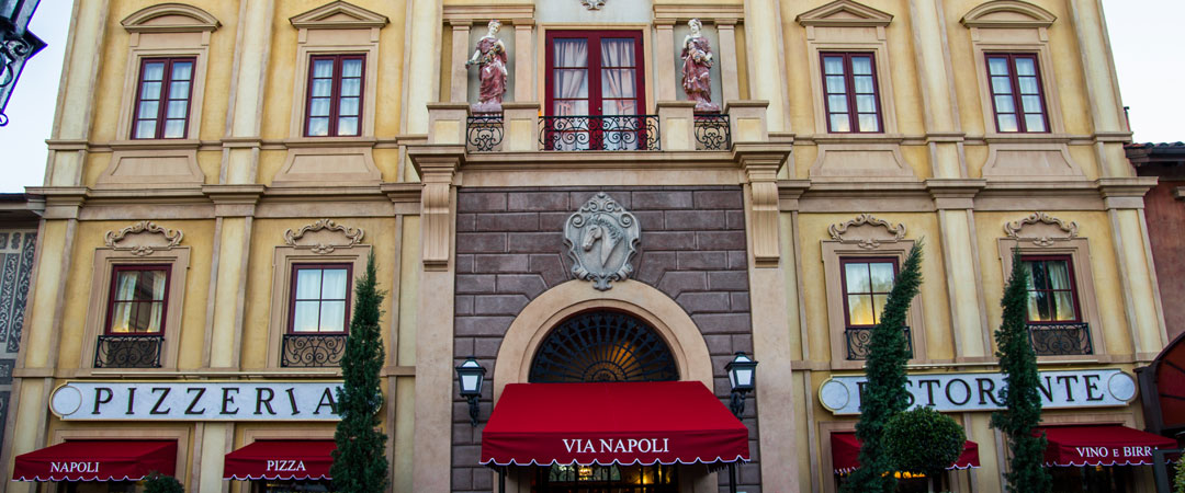 Via Napoli - Epcot's Italy Pavilion - Walt Disney World