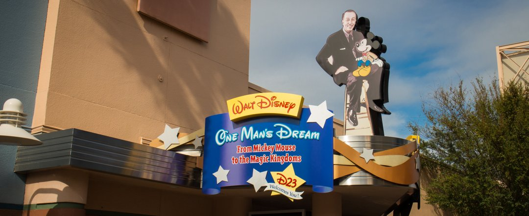 Walt Disney: One Man's Dream - Hollywood Studios Attraction