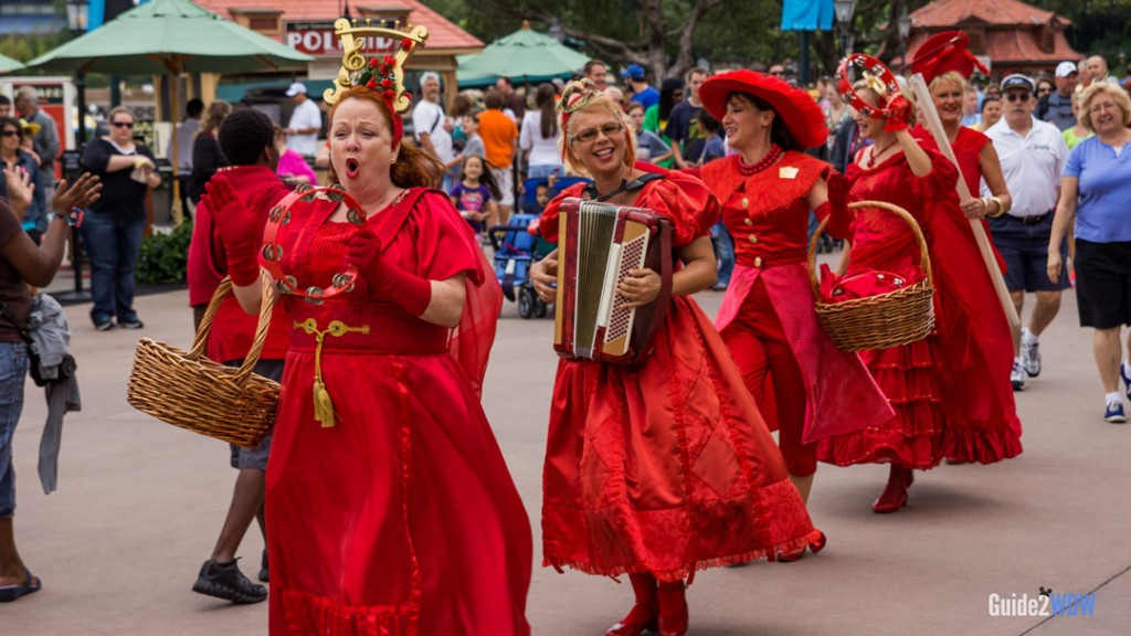 Ziti Sisters - World Showcase Entertainment - Epcot Attraction