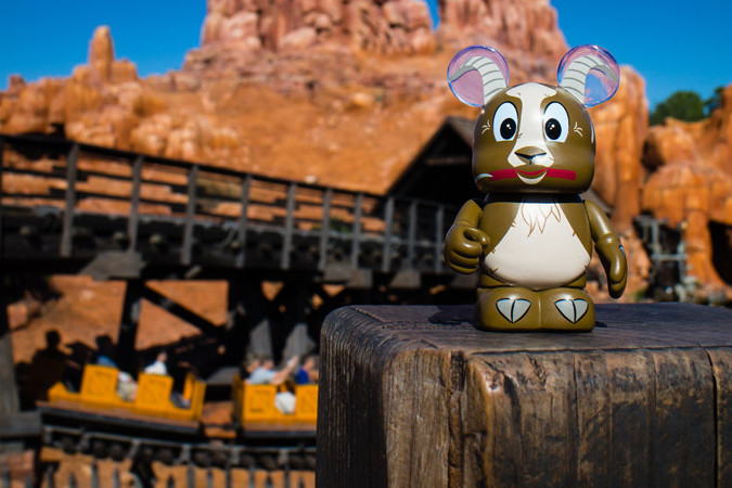 Goat Vinylmation - Big Thunder Mountain Railroad