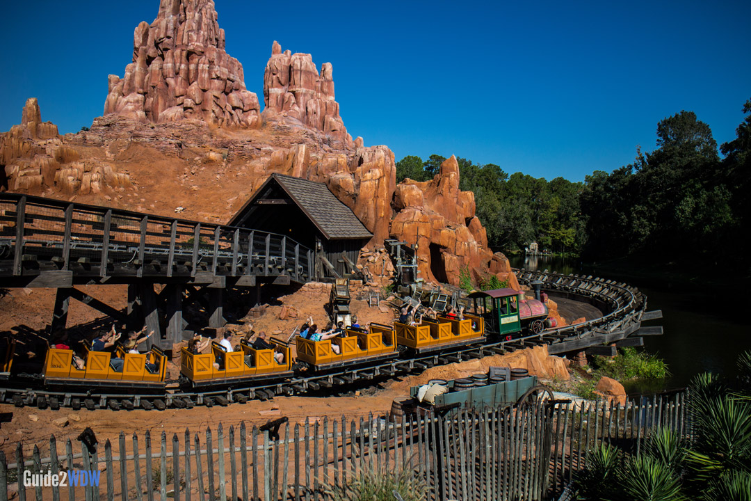 Big Thunder Mountain Railroad - Roller Coaster- Magic Kingdom Attraction
