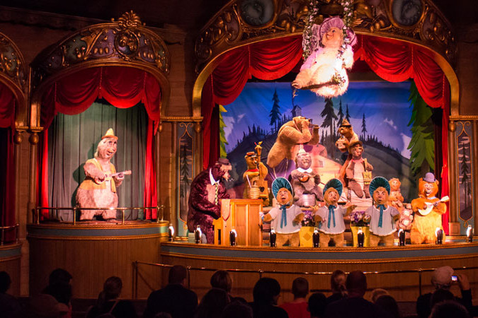 Country Bear Jamboree - Finale - Walt Disney World