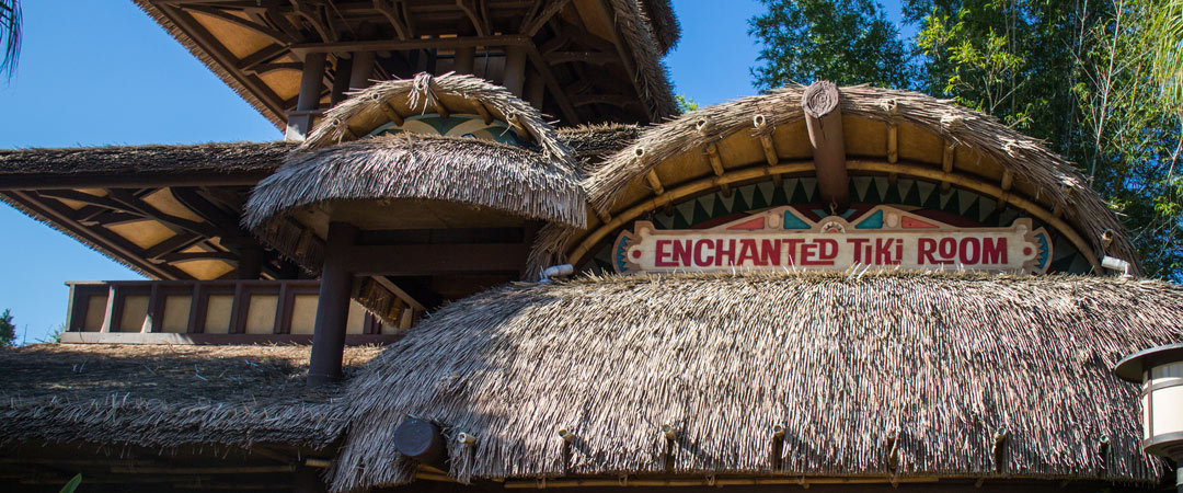 Enchanted Tiki Room - Banner - Magic Kingdom Attraction