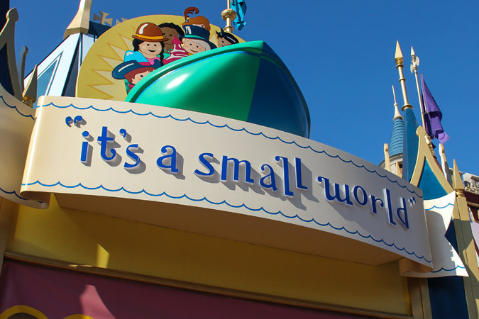 it's a small world - Magic Kingdom Ride