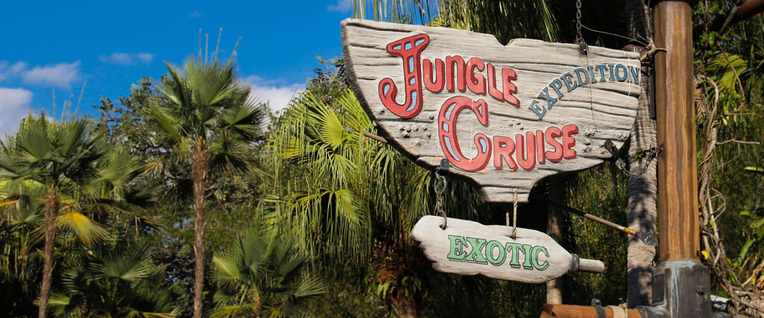 Jungle Cruise Sign - Magic Kingdom
