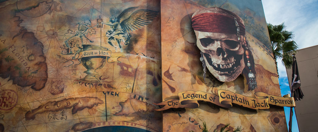 Legend of Captain Jack Sparrow Show - Disney World Attraction
