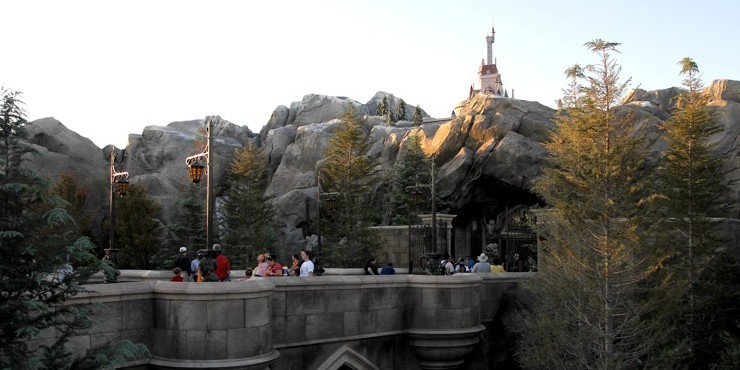 New Fantasyland - Beast Castle - Walt Disney World