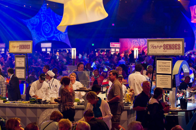 Party for the Senses - Epcot Food and Wine