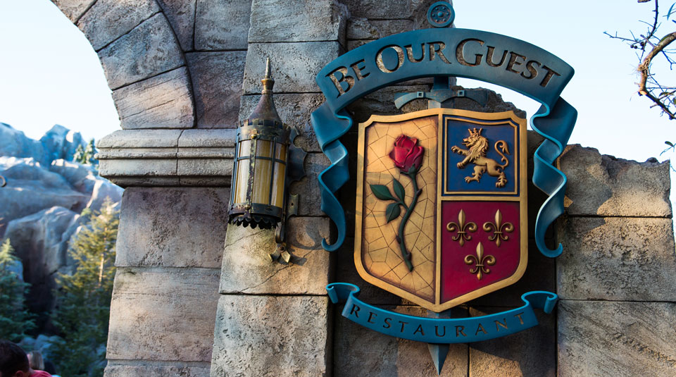 Be Our Guest - Disney World Restaurant