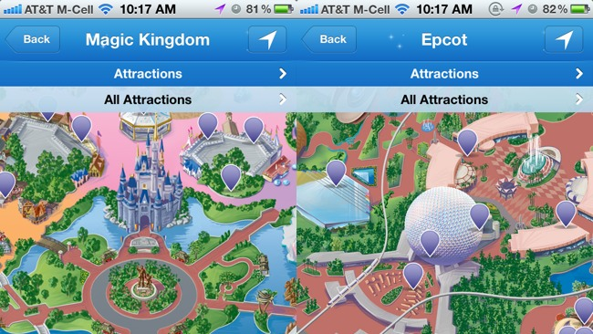 First impressions Disney Parks Mobile Magic app for iPhone provides accurate