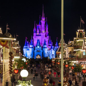 Tip: Stick around Magic Kingdom after the fireworks.