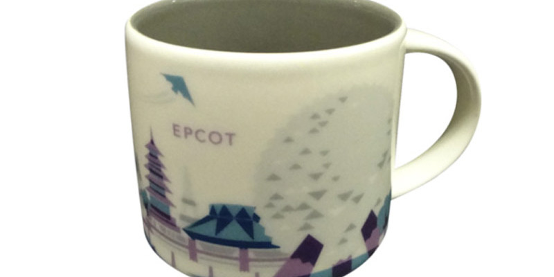 Epcot - Purple Monorail mug that was pulled from Starbucks