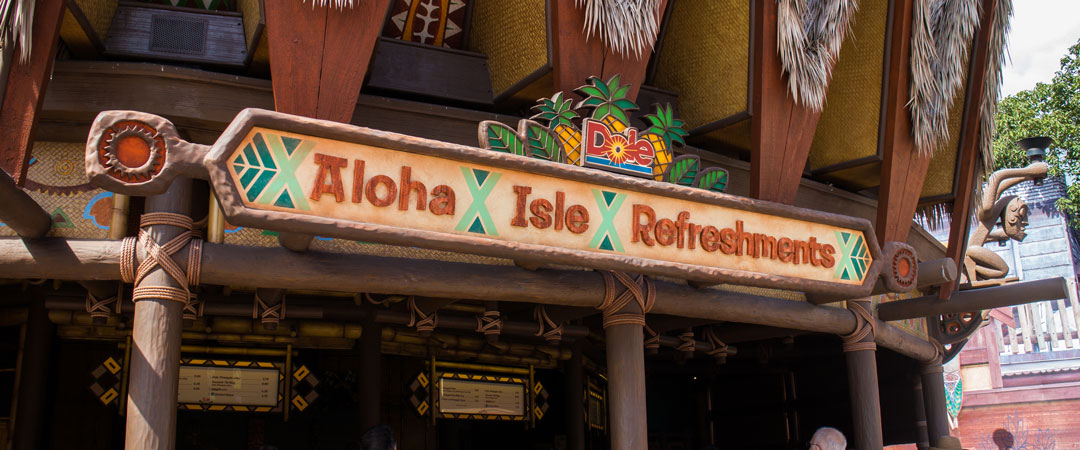 Aloha Isle Refreshments - Magic Kingdom