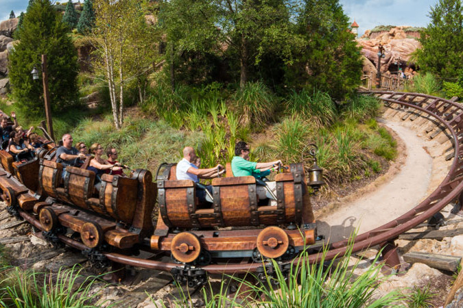 Seven Dwarfs Mine Train - Magic Kingdom Ride