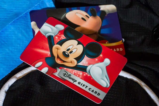 Save Money with Disney Gift Cards at Disney World