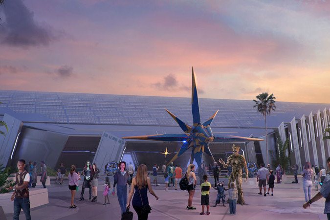 Guardians of the Galaxy E-Ticket Ride for Epcot