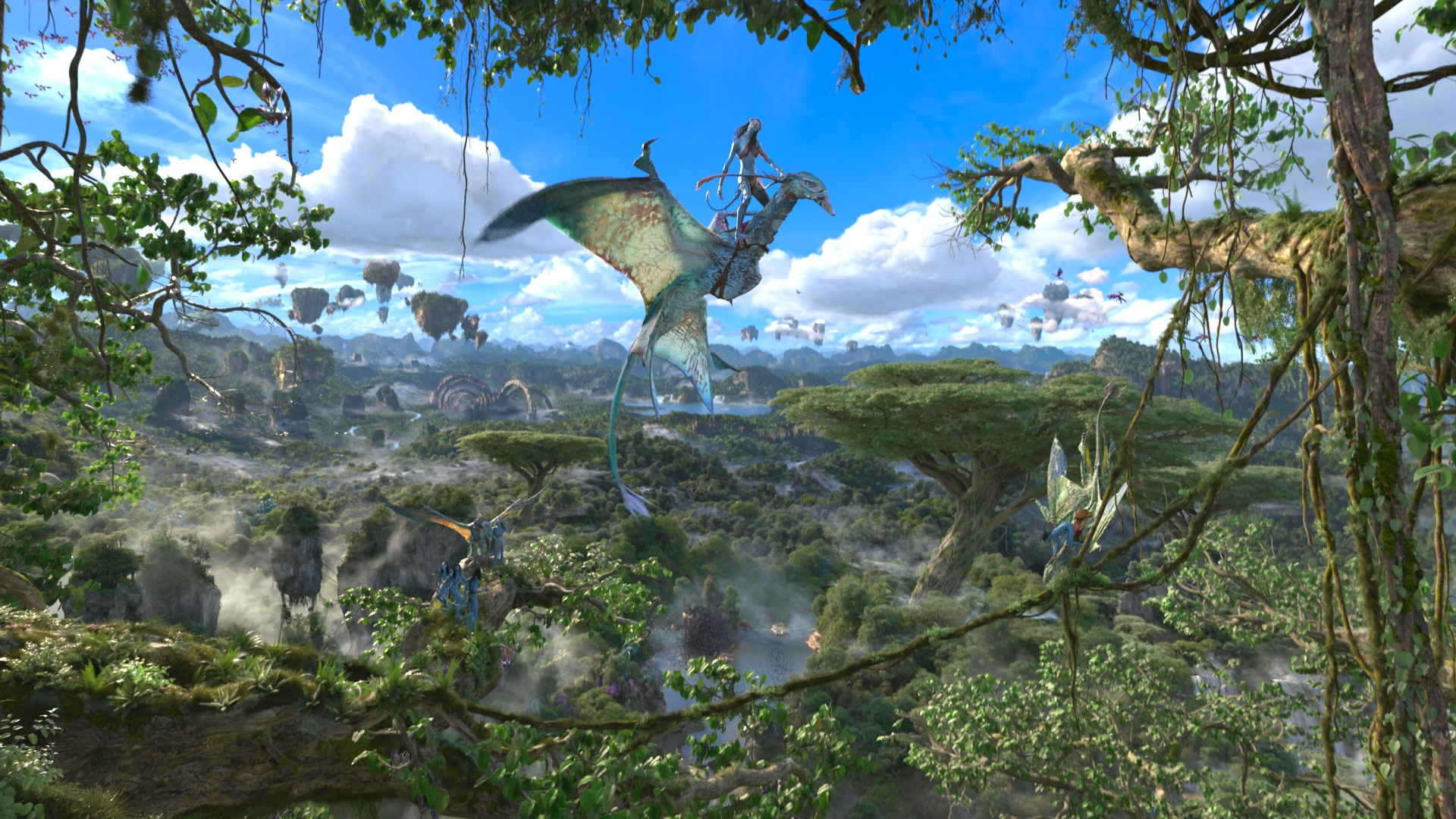 Avatar Flight of Passage on Pandora Ð The World of Avatar at Disney's Animal Kingdom