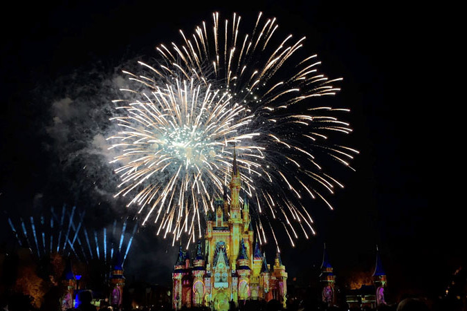 Happily Ever After - Magic Kingdom Fireworks Show - Disney World