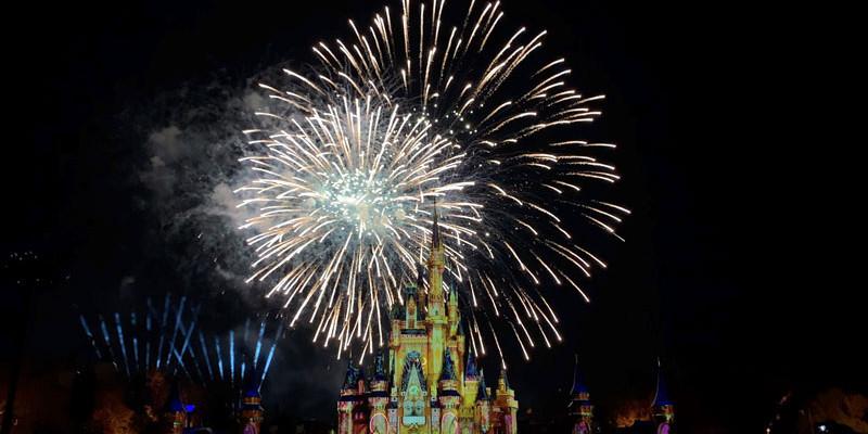 Happily Ever After - Magic Kingdom Fireworks Show - Disney World